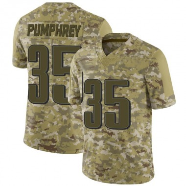 Youth Nike Philadelphia Eagles Donnel Pumphrey 2018 Salute to Service Jersey - Camo Limited