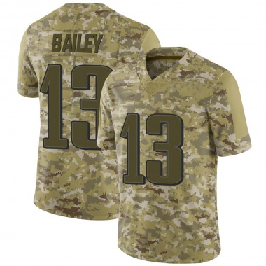 Youth Nike Philadelphia Eagles Manasseh Bailey 2018 Salute to Service Jersey - Camo Limited